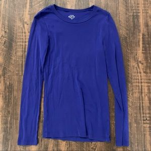 J Crew   Perfect Fit Blue Long Sleeve 💙✨